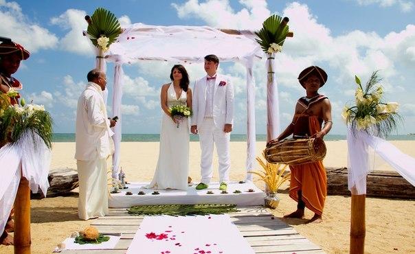 Свадьба на частном пляже