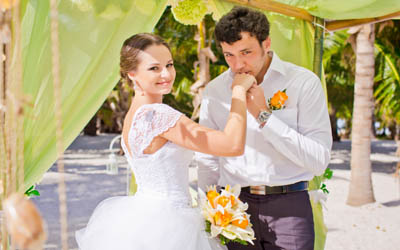 Сергей и Юлия, Свадьба в Доминикане. Сентябрь.