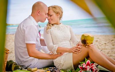 Ордан и Анна. Свадьба в Доминикане. Остров Саона