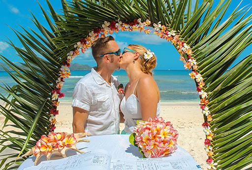 «Все включено». Свадьба и медовый месяц (церемония+проживание+перелет)